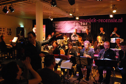 Big Band Exposure in jazzcafe de Tor