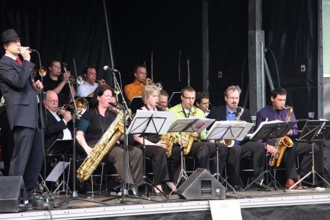 Big Band Exposure wint eerste prijs