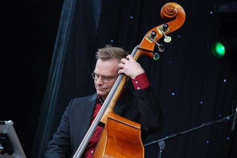 Henri Huisman tijdens Big Band Contest Enschede 2013