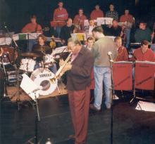 Big Band Exposure met bebop trompettist Benny Bailey