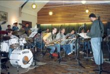 Big Band Exposure maakt radio-opnames bij NCRV